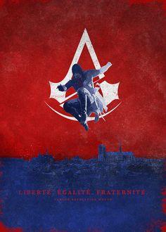 Assassin's Creed Unity Poster - Bernie Jezowski