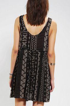 Ecote Maya Babydoll Dress