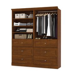 Versatile by Bestar 72-inch Classic Kit (Tuscany Brown)