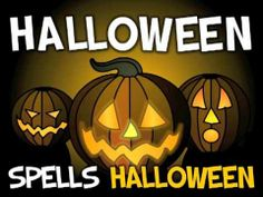 """""""Halloween"""" song- (H-A-double L-O)- song for kids. I still can't spell Halloween without singing this song! Halloween Songs, Halloween Activities, Holiday Activities, Halloween Themes, Happy Halloween, Preschool Halloween, Halloween Drawings, Halloween Stuff, Halloween Halloween"""