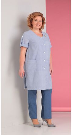 Novella Sharm-2977 Knitted Jackets Women, Big Size Fashion, Womens Denim Dress, Embroidery Suits Design, Sister Shirts, Over 50 Womens Fashion, African Wear, Colourful Outfits, Easy Wear