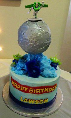 Birthday Cake Toy Story Theme