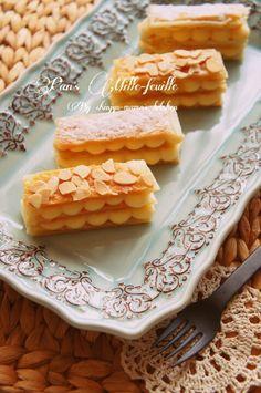 フライパンで簡単!冷凍パイシートとレンジで出来ちゃう濃厚カスタードのミルフィーユ   珍獣ママ オフィシャルブログ「珍獣ママのごはん。」Powered by Ameba