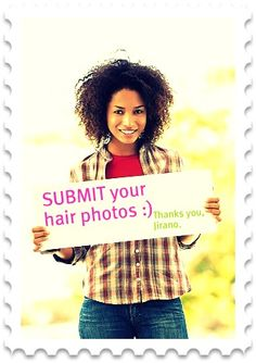 Natural hair submit your hair photos. Click on the photo to reveal the link :)