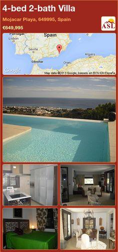 4-bed 2-bath Villa in Mojacar Playa, 649995, Spain ►€649,995 #PropertyForSaleInSpain