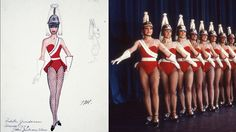#Rockettes wore this military guard costume to salute Guinness World Records at a tribute show in 1977. #WardrobeWednesday