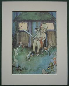 Vintage Peter Pan picture  Mabel Lucie Attwell J by PrimrosePrints, £7.00