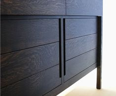 66 inch Empire dresser - detail – handle cut-outs
