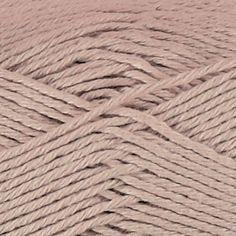 Garn organic cotton lys rosa