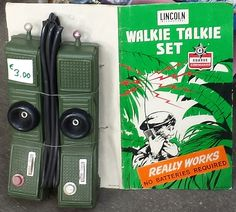 Walkie Talkie Set - Lincoln International