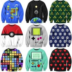 I would say can you name them all but some of them are not from video games, so that'd be a little unfair.