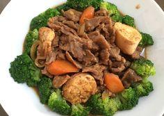 Vegetable Recipes, Beef Recipes, Recipies, Cooking Recipes, Cooking Ideas, Indonesian Food, Indonesian Recipes, Chinese Food, Pot Roast