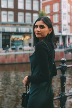 If there's one throwback trend that has staying power, it's the slip dress – and I refuse to pack it away for the winter season. Comfortable Ankle Boots, Cropped Knit Sweater, Winter Dresses, Winter Season, Old Women, Personal Style, High Neck Dress, Lady, Casual