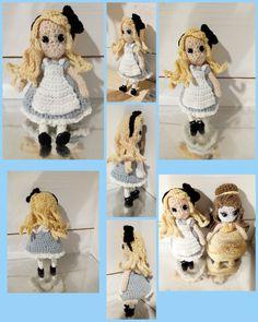 Crochet Alice, Teddy Bear, Homemade, Toys, Crochet, Animals, Activity Toys, Animales, Home Made