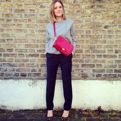 Wearing It Today - The M&S Best of British black trousers
