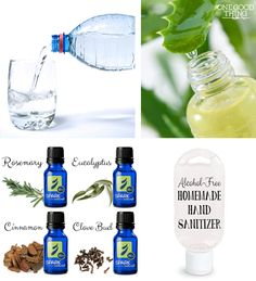 Here you can find the simplest and most effective natural hand sanitizer I have ever seen: the combination of essential oils is just amazing