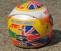 Lewis Hamilton helmet by JLF Designs by IZOD IndyCar Series