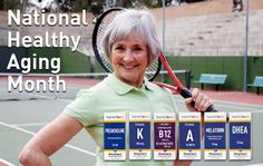 September is National Healthy Aging Month Get healthy as you age w/ #SuperiorSource Vitamins #ad