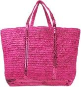 Sequins and raffia Medium   tote