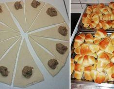 Makové a orechové rožteky - Receptik. Rigatoni, Ciabatta, Pineapple, Dairy, Ale, Cheese, Fruit, Food, Recipes