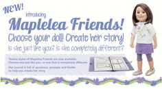 New Line of Maplelea Friends Dolls — Doll Diaries Are You The One, Like You, Prompts, Giveaway, This Or That Questions, Dolls, Diaries, Friends, Puppet