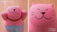 Tutorial Boneco Artesanal -   Como fazer Gato Afortunado Bonitinho...                      Figura professor hoje tutorial boneca feita à mão para lhe ensinar como fazer gato afortunado bonito.Como DIY feito à mão, você não deve perder e