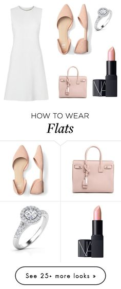 """Untitled #70"" by fashkion on Polyvore featuring Yves Saint Laurent and NARS Cosmetics"