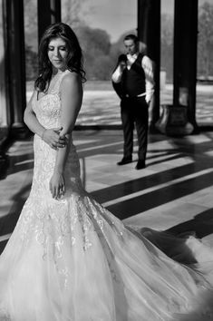 The bride and groom black and white inspiration w/ Anthony Vazquez Photography