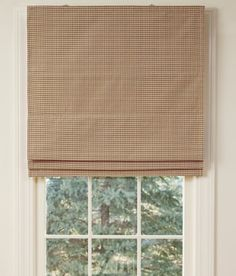 Colebrook Cordless Lined Roman Shade.  A slight possibility for the great room.