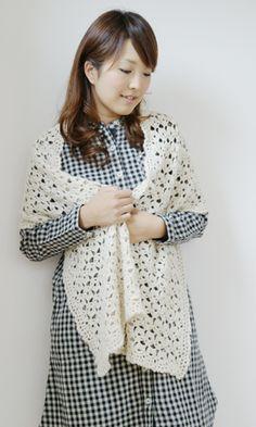 Ravelry: Baby Alpaca Shawl pattern by Pierrot (Gosyo Co. Crochet Symbols, Japanese Nail Art, Baby Alpaca, Crochet Shawl, Crochet Projects, Ravelry, Free Pattern, Sewing, Knitting
