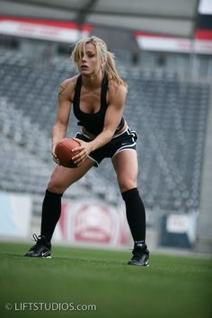 Knee highs and football ♥