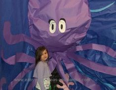 underwater theme craft | No under the sea scene is complete without an octopus!! This one was ...