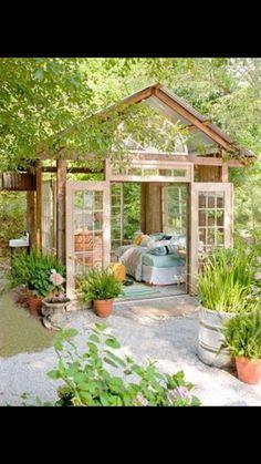 summer room made of windows