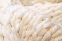 jättineuleviltti-1742 Koti, Merino Wool Blanket, Ideas, Thoughts