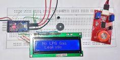 Arduino based LPG Gas Detector Here we have developed this Arduino based LPG gas detector alarm. If gas leakage occurs, this system detects it and makes an alert by buzing the buzzer attached with the circuit. This system is easy to build and anyone. Arduino Projects, Electronics Projects, Gas Detector, Circuit Diagram, Buzzer, Alarm System, Facebook Sign Up, Diy, Product Design