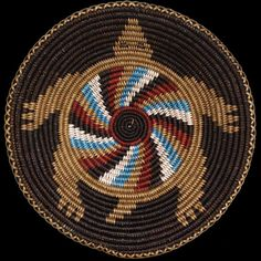 Navajo Medicine Turtle Basket - Elsie Holiday (#384)