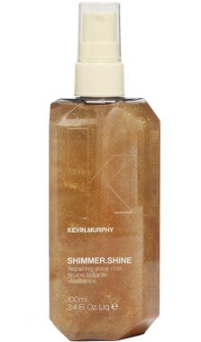 SHIMMER.SHINE. Revive shine and repair hair with this finishing mist. Treat your hair as it shines with Vitamins A, C and E, Baobab, Immortelle and Bamboo extracts. Part of a new segment in the line called Treatment Styling.