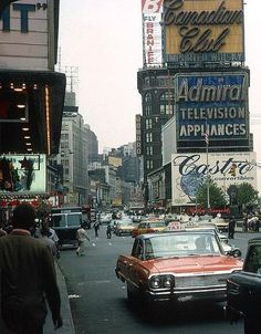 New York City, ca. 1962.