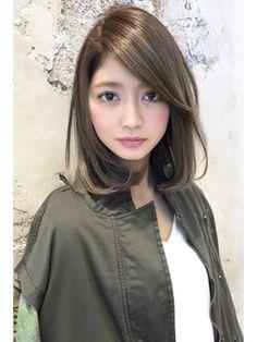 大人かわいいロブ!! とろみワンカールギブソンタック 新宿 - 24時間いつでもWEB予約OK!ヘアスタイル10万点以上掲載!お気に入りの髪型、人気のヘアスタイルを探すならKirei Style[キレイスタイル]で。