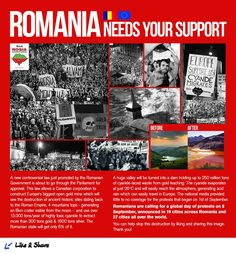Romania Needs your support