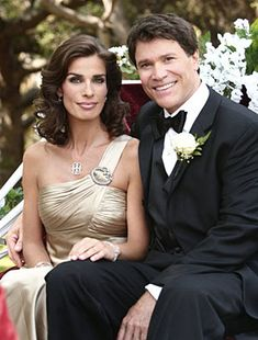 Kristian Alfonso and Peter Reckell...Hope and Bo