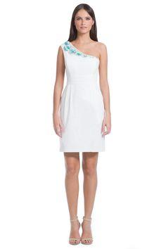 Turquoise Beading Donna Dress