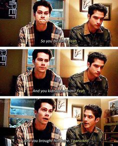 """I panicked."""