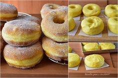 Cake Decorating Tips, Doughnut, Italian Recipes, Donuts, Cheesecake, Deserts, Food And Drink, Sweets, Cooking