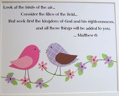 LOVE this scripture for our baby's room.  Hope I have enough time to make a sign to hang above her crib.