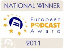Karen Wild and Jon Buscall were National winners of the European Podcast Award with the WildPaw Podcast (on iTunes)