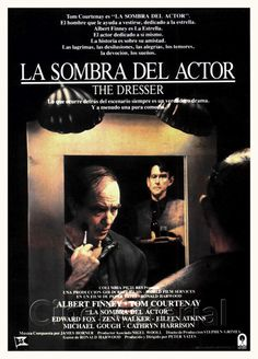 The Dresser Spanish movie poster