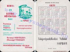1971 - 1971_0542 - Régi magyar kártyanaptárak