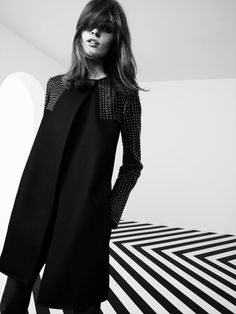 hardware detail on this coat is gorgeous! love the minimalist stylings of this pierre balmain fall 2012 lookbook