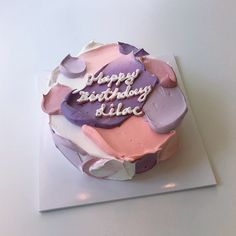 Sweet Recipes, Cake Recipes, Dessert Recipes, Cute Cakes, Pretty Cakes, Sweet Cakes, Korean Cake, Pretty Birthday Cakes, Cute Desserts